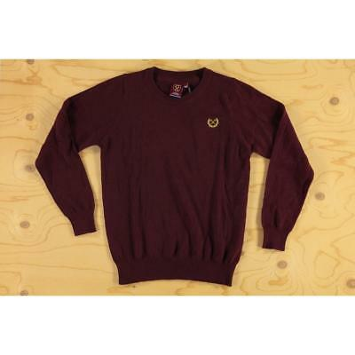 Age 9-10 Kids Cotton Knit West Ham Official Football FC Club Sweater Circle Clar