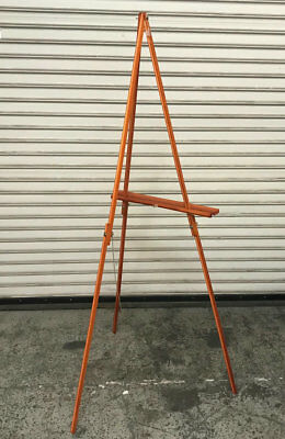 Wood Tripod Menu Special Advertising Board Stand #7548 Commercial Restaurant