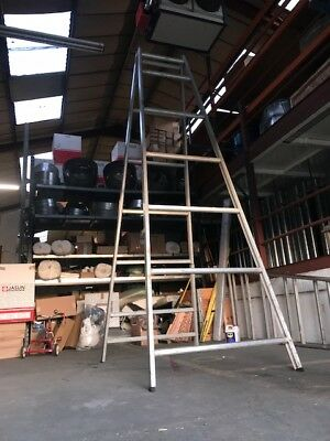 Aluminium Staging Trestles (Pair) Over 3,0m