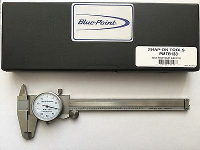 "Snap-on, Blue Point 0-6""/0.1/Rev. Dial Caliper"