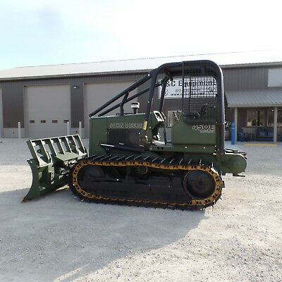 1986 Dozer John Deere 450E LT With winch One Owner Good shape! LOW HOURS!