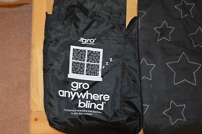 Gro Anywhere Travel Blackout Blind - used but in god condition.