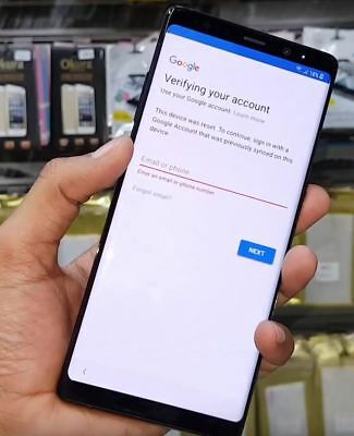 Google account FRP (bypass) removal for Samsung galaxy Note 8