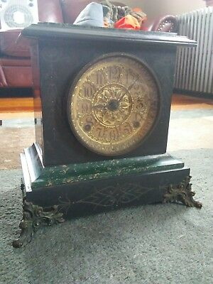 Antique  Seth Thomas Mantle Clock Sussex