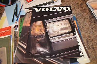 Volvo Model Year 1982 Full Line U.S. Sales Brochure