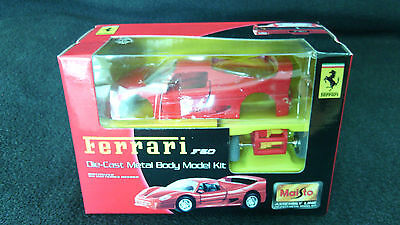 Ferrari F50-Bausatz-Die-Cast Metal Body Model Kit