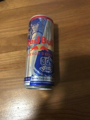 30th Anniversary Streetfighter Germany 2017 Red Bull   Energy Drink Dose Can