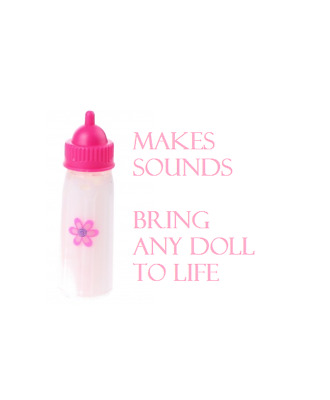 Baby Doll Bottle Drink Milk Bottle With Sounds Bring Any Doll To Life With A Sou