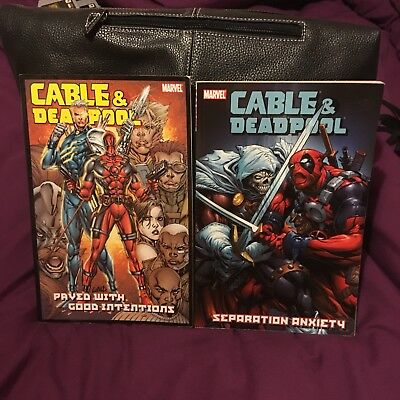 Deadpool And Cable Graphic Novels