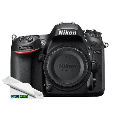 Nikon D7200 DX-format Digital SLR Camera (Body Only)