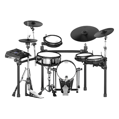 Roland TD-50K-S V-Drums - Includes TD-50DP, TD-50KA, MDS-50K and KD-120BK