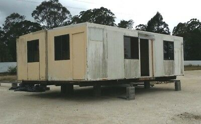 Used Portable Building - 8.4m x 6.0m - Selling 'As Is' - NO RESERVE