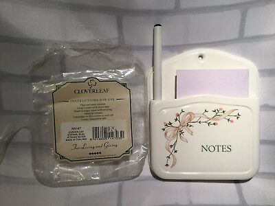 Eternal Beau Cloverleaf Kitchen Notes Holder