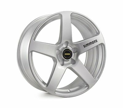 HOLDEN ASTRA 2005 TO 2014 WHEELS PACKAGE: 19x8.0 19x9.0 Simmons FR-C Silver and