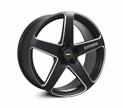 HOLDEN ASTRA 2005 TO 2014 WHEELS PACKAGE: 19x8.0 19x9.0 Simmons FR-CS Satin Blac