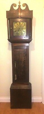 Antique 30hr long case clock by Jn Rodgers leominster