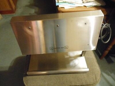 Stainless Steel Commerical French Frie And Food Warmer. 115V Dual Bulb