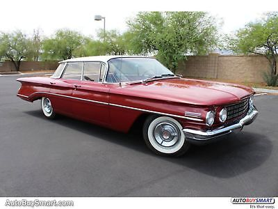 1960 Oldsmobile Eighty Eight OLDS 88 1960 Red!