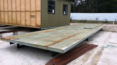 Used 10.3m x 3.3m Gal Chassis & Floor System - Selling 'As Is' - NO RESERVE