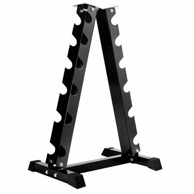 Vertical Dumbbell Storage Rack 6 Pairs Gym Weight Equipment Home Fitness Holder