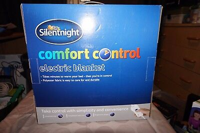 Silentnight Comfort Control Electric Blanket - King Size