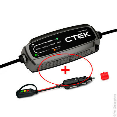 CTEK CT5 POWERSPORT Caricabatteria e Mantenitore Batterie Piombo CANBUS