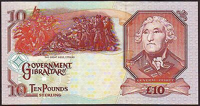GIBRALTAR  10 Pounds  1995  Gem UNC