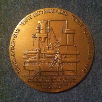 RARE Large 1957 Eastman Chemical 25th Anniversary Token Coin Kingsport TN