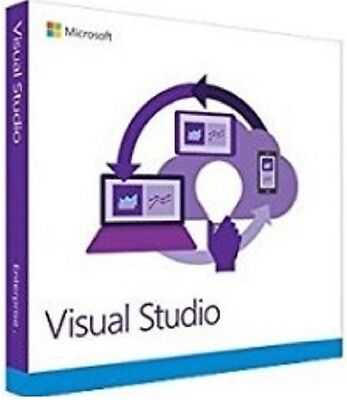 MS Visual Studio 2015 Enterprise 32 & 64Bit Key