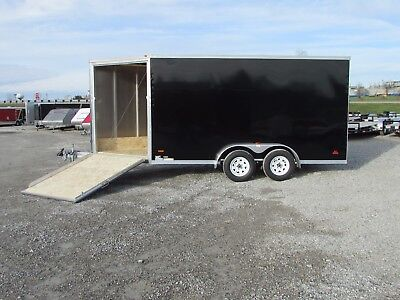 New 7 X 19 Rc Enclosed Snowmobile Trailer W/ Extra Height * Dr Trailer Sales