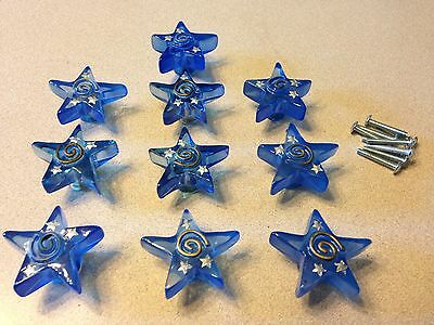Boys' Baby/Toddler Knobs - Blue Stars