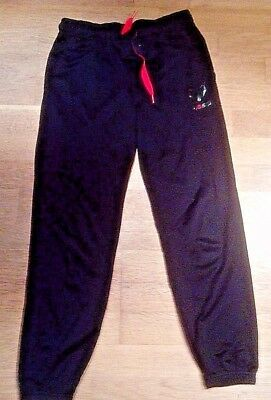 adidas Climalite Messi Slim Fit Bottoms Pants Age 11-12 Years Boys BLACK