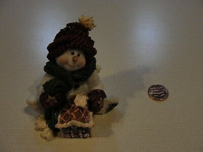 Boyd's Snowman Collection Pudge Home Sweet Home Style 36525 1E/626 2002  3 in