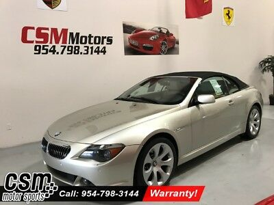 2007 BMW 6-Series 650i Convertible FWD Automatic