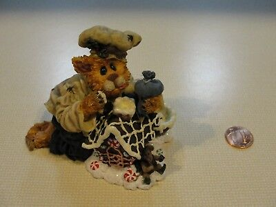 Boyd's Purrstone Collection Chef Stickypaws & Gingersnap Roof Repair Style 37101