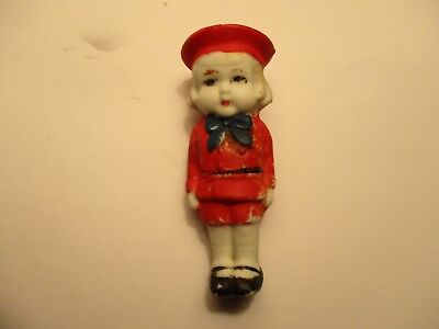 Buster Brown Shoes Bisque Doll