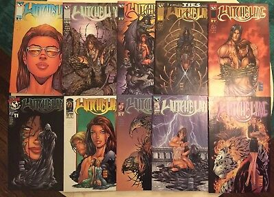Witchblade Comic Lot 11,12,13,14,15,16,17,18,19,20 Complete Run Michael Turner