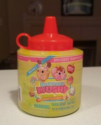 NEW Smooshy Mushy Surprise Pet KETCHUP BOTTLE Scented Squishy SQUISHIES NEW HTF