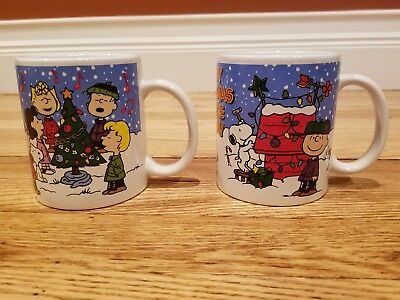 charlie brown christmas coffee mugs