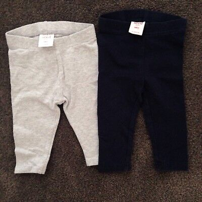 Seed Set Of 2 Baby Leggings Unisex Boy Girl Size 000 EXCELLENT CONDITION