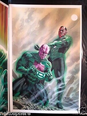 DC Flashpoint Abin Sur The Green Lantern #2 Painted Cover with Sinestro