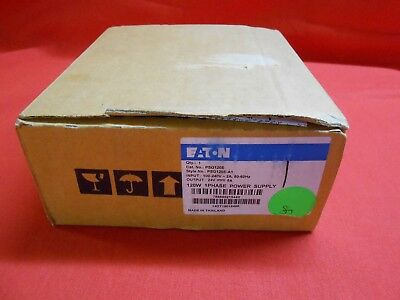 EATON PSG120E  Power Supply;  5AMP  1-P  240VAC  24VDC PSG W1-3 - NEW IN BOX