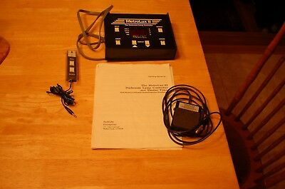 Metrolux II Darkroom Lamp Light Timer / Controller with manual and foot switch