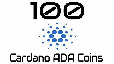 100 Cardano ADA Coins | Direct in your Wallet | Cheap price | Fast transfer