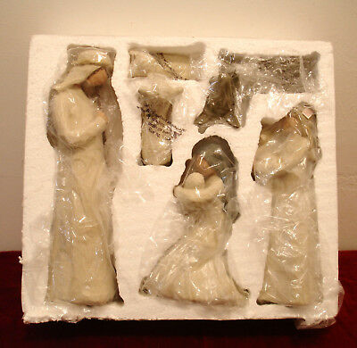 Demdaco Willow Tree 14 pc Nativity Set NEW IN BOXES