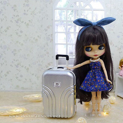 1/4 1/6 BJD bag Dollfie DOD AOD DIM LUTS MID Blythe Doll Luggage Travel Suitcase