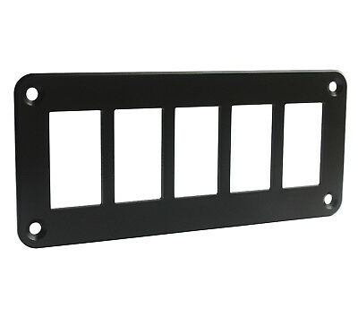 Car Boat 5 Way Gang Rocker Switch Holder Mount Panel For CARLING ARB NARVA Style