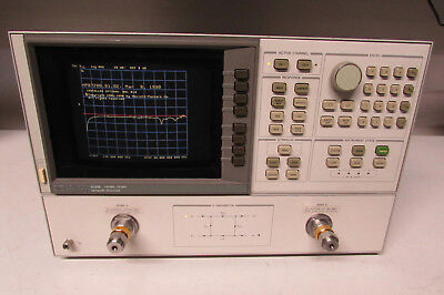 Agilent HP 8720B Network Analyzer, 130 MHz to 20 GHz Opt 001, 010
