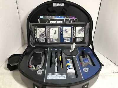 Corning TKT-UNICAM-PFC Fiber Connector Tool Kit Fast Shipping !!!