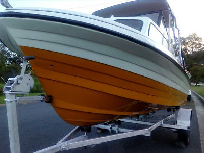 17' Half Cabin Total New Rebuild Looks/goes New 115Hp V4 Low Hrs